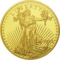 United States Of America, Médaille, Reproduction Twenty Dollars Liberty, FDC - Autres