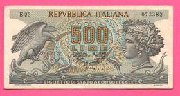 500 Lire 1970 Repubblica Italiana Aretusa - [ 2] 1946-… : Républic