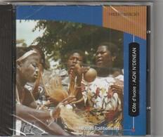 Cd Musique De Côte D'Ivoire Danse Traditionnelles Des Agni-n' Denean   Etat: TTB Port 110 Gr Ou 30gr - Musiques Du Monde