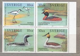 BIRDS SWEDEN Joint Issue Hong Kong 2003 Mi 2371-2374 MNH (**) #23122 - Birds