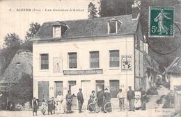 C P A Eure 27 Aizier Les Galeries D'Aizier - Other Municipalities