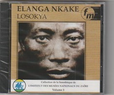 Cd  Elanga Nkake Losokya  ZAIRE     Etat: TTB Port 110 Gr Ou 30gr - World Music