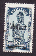 Ivory Coast, Scott #105, Used, Stamps Of Upper Volta Overprinted, Issued 1933 - Ivoorkust (1892-1944)