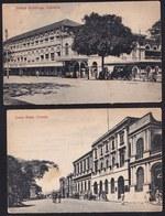 2  X OLD CARD COLOMBO - SRI LANKA - - Sri Lanka (Ceylon)