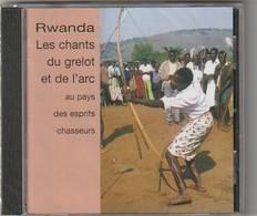 Cd  Rwanda : Les Chants Du Grelot Et De L'Arc     Etat: TTB Port 110 Gr Ou 30gr - Musiques Du Monde