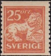 Sweden    .      Facit   .      147          .       **   .    MNH    .   /   .  Postfris - Zweden