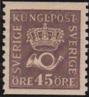 Sweden    .      Facit   .      160    Type  I         .       **   .    MNH    .   /   .  Postfris - Ongebruikt