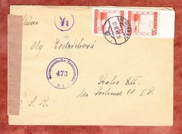 Brief, MiF Landschaften, Sondertarif, Wien Nach Prag, Zensur 1948 (56951) - 1945-60 Lettres