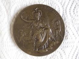 Médaille En Bronze  AU MERITE , Anges Nus, Par Chaplain Et Dubois - France