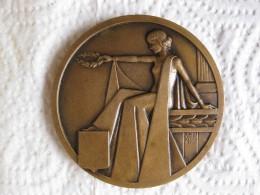 Médaille Chambre Des Métiers Du Rhône Par Mazzoni - France