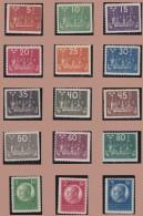 Sweden    .      Facit   .      196/210         .       *   .    Mint-hinged   .   /   .    Ongebruikt - Ongebruikt