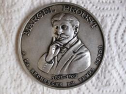 Médaille Marcel Proust 1871 1922 , A La Recherche Du Temps Perdu  Par G.L.M. - France