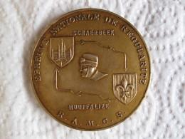 Médaille Epreuve Nationale De Régularité R.A.M.C.S. Schaerbeek – Houffalize, 22 Septembre 1857 - Belgique