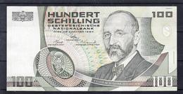 AUSTRIA 1984. EUGEN BÖHM-BAWERK 100 SCHILLING    EBC VERY FINE. .B1177 - Austria