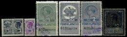 ROMANIA, Aviation Fund, */o M/U, F/VF - Revenue Stamps