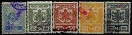 ROMANIA, Consulars, Used, F/VF - Fiscaux