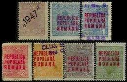ROMANIA, Invoices, */o M/U, F/VF - Fiscaux