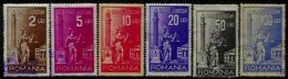 ROMANIA, Justice Fees, */o M/U, F/VF - Revenue Stamps