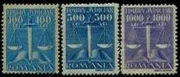 ROMANIA, Justice Fees, ** MNH, F/VF - Fiscaux