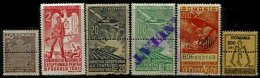 ROMANIA, War Tax, */o M/U, F/VF - Revenue Stamps