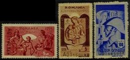 ROMANIA, Winter Help, (*) MNG, F/VF - Revenue Stamps