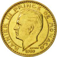 Monnaie, Monaco, Rainier III, 50 Francs, 1950, Paris, ESSAI, SPL - Monaco