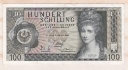 Autriche 100 Schilling  2 1 1969 - Autriche