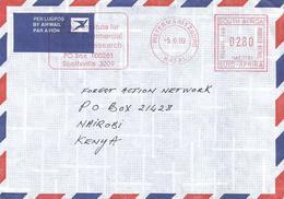 "RSA South Africa 1999 Pietermaritzburg Meter Hasler ""Mailmaster HAS1791 Forestry Research Slogan Cover - Zuid-Afrika (1961-...)"