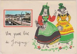 CP 89  UNE GROSSE BISE DE JOIGNY - Joigny