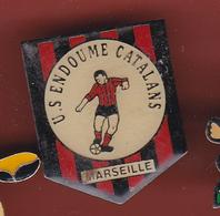 53547-Pin's.Football.US Endoume Catalans.Marseille. - Fussball