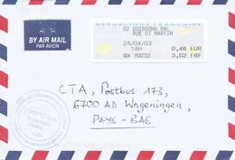 "France 2003 Soissons Meter Siemens ""HighPrint 4905""  EMA Cover - 2000 «Avions En Papier»"