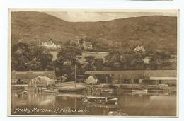 Somerset  Postcard  Porlock Weir Harbour Frith's Unused Some Writing On Reverse - Altri