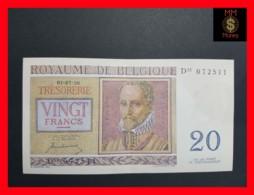 BELGIUM 20 Francs 1.7.1950  P. 132 A AU - Other