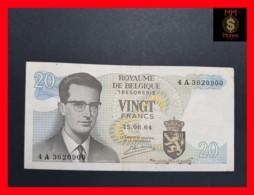 BELGIUM 20 Francs 15.6.1964 P. 138  VF - Other
