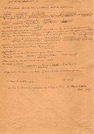 VP12.947 - MILITARIA - LE MANS 1917 - Mr MEMINI Du Génie Militaire - Solution Du Problème - L'âge De Mme X...... - Documents