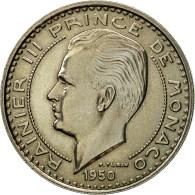 Monnaie, Monaco, Rainier III, 100 Francs, 1950, Paris, ESSAI, SPL - Monaco