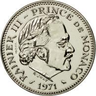 Monnaie, Monaco, Rainier III, 5 Francs, 1971, Paris, ESSAI, FDC, Copper-nickel - Monaco