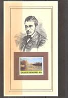 Peinture - Auteur: Thomas Eakins - Max Schmitt Dans Un Skiff - Sur Fiche Cartonnée Avec Timbre XX/MNH - Andere