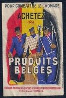 BELGIQUE - VIGNETTE - ACHETEZ DES PRODUITS BELGES.- FÉDÉRATION NATIONALE DES CHAMBRES DE COMMERCE ET D'INDUSTRIE - Unclassified