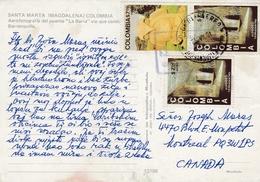 Colombia - Santa Marta - Puente La Barra 1981 Nice Stamps - Colombie