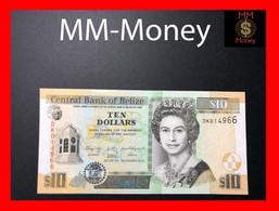 BELIZE 10 $   1.11.2011  P. 68 D  UNC - Belize
