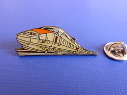 Pin's TGV SNCF - Train Gris (QB49) - TGV