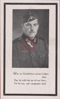 Sterbezettel Deutscher Soldat Alois Gaisbauer Infant. Sturmabzeichen Ostfront 1943 Sterbebild Weltkrieg WK 2 World War - 1939-45