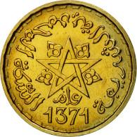 Monnaie, Maroc, 20 Francs, 1371/1952, Paris, ESSAI, SPL+, Aluminum-Bronze - Morocco