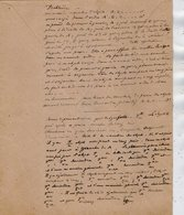 VP12.949 - MILITARIA - Franchise Militaire - LE MANS 1916 ? - Génie Militaire - Problème ......... - Documents