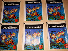 L'ape Maga 6 Bustine Chiuse Con Figurine Rare 1979 - Stickers