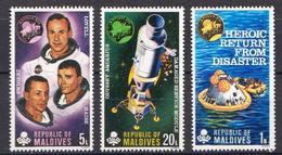 Maldives MNH Set - Space