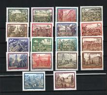 """Österreich 1984/92: """"Stifte U. Klöster"""" Kpl.Satz (18)  Postfrisch (s.Foto) - 1981-90 Unused Stamps"""