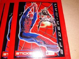 Spider-man Bustina Con Figurine.merlin - Stickers