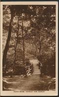 °°° 11923 - UK - RUSTIC BRIDGE , TOWNELEY PARK , BURNLEY - 1931 With Stamps °°° - Inghilterra